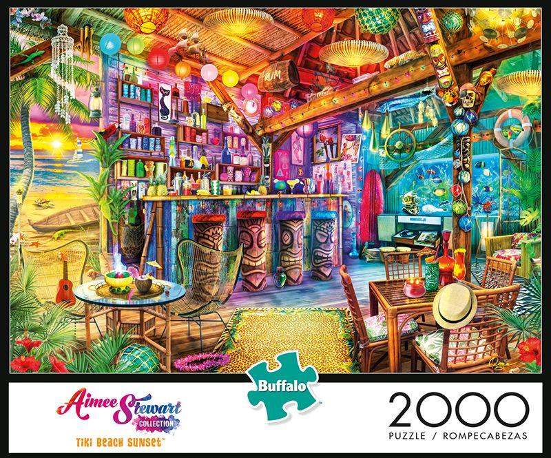 Buffalo⢠Two Thousand Piece Collection⢠Times Square Puzzle 2000 pc Box