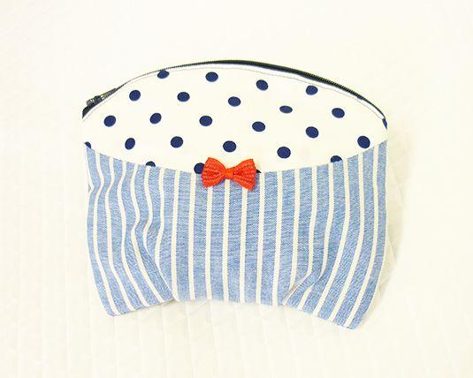人気のシェルポーチをつくりました。小さめのポーチなのでティッシュやリップクリームを入れるのに◎たくさん作って、お友達にプレゼントしても良いですね♡ Made a popular shell pouch! Rather small pouch is useful for keeping tissue paper and lip cream. Make a lot as present for friends. #shellshapedporch #sewing #handmade #JAGUAR
