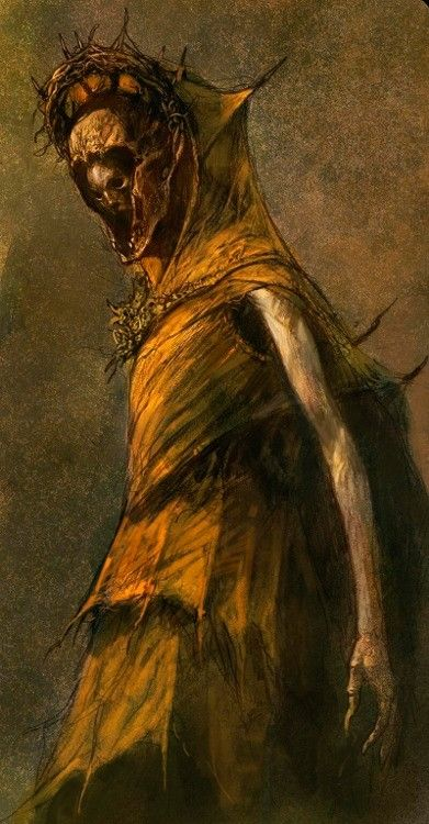 The King in Yellow by Dave Kendall-