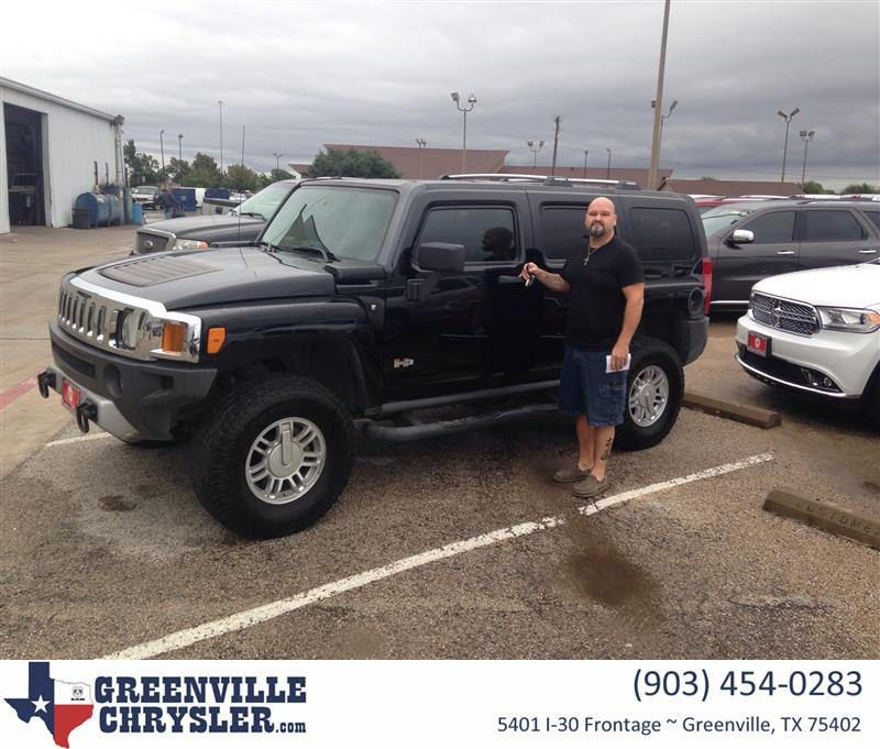 Happy Anniversary To Tommy On Your HUMMER H From Cole Newsom At - Chrysler hummer