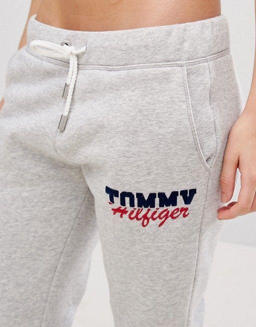 9c1afeef7457 Tommy Hilfiger - Pantalon de jogging avec logo in 2019 | lowers ...