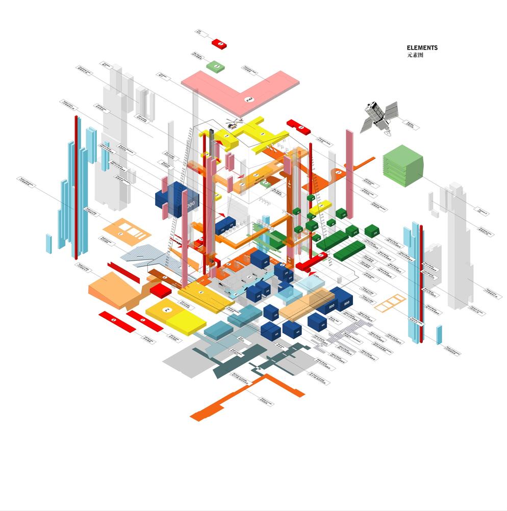 Gallery Of Cctv Headquarters Oma 30 Concept Diagram