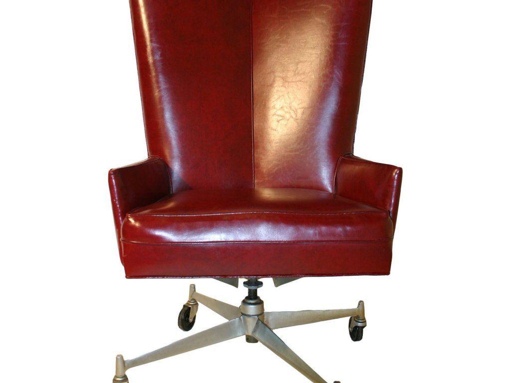 rote Leder Schreibtisch Stuhl home office Möbel Bilder | Büromöbel ...