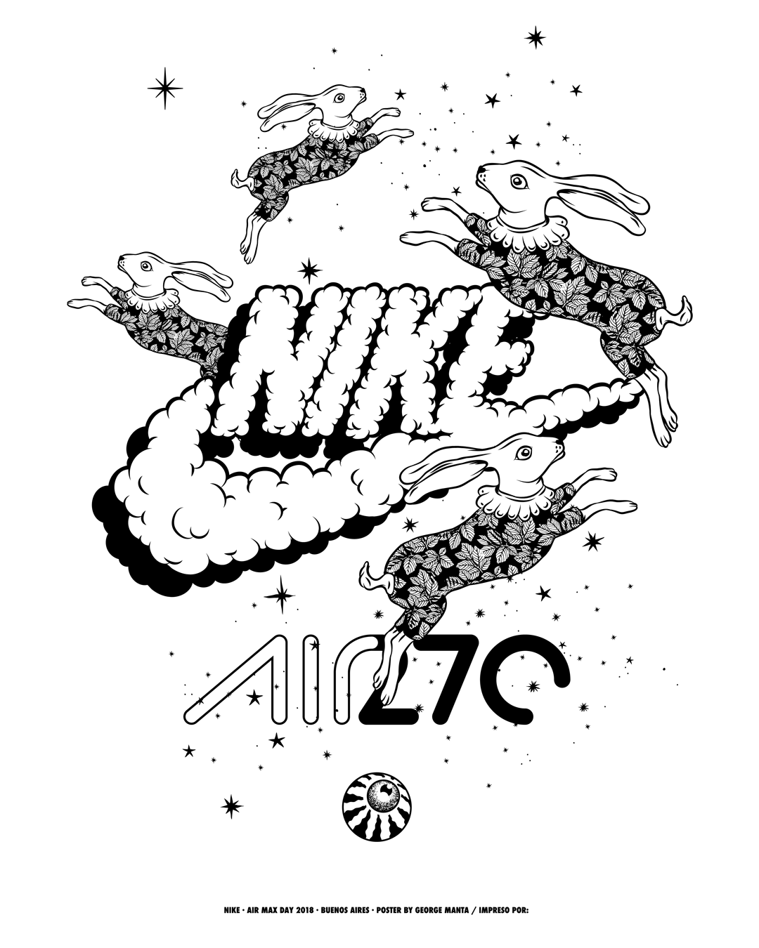 detailed look b8c2e e3385 Nike Air Max Day 2018 (Buenos Aires) Posters on Behance