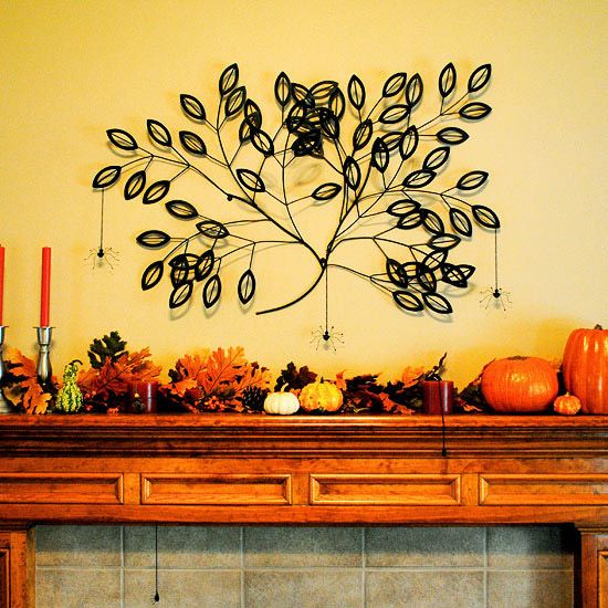 Fab Fall Mantel Ideas | Paper towel rolls, Mantels and Toilet paper