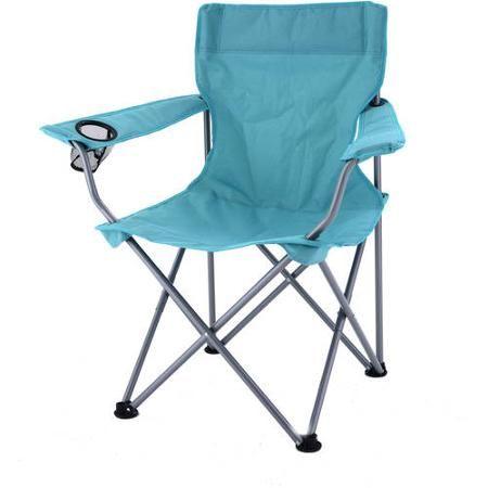 Ozark Trail Deluxe Folding Camping Arm Chair Walmart Com