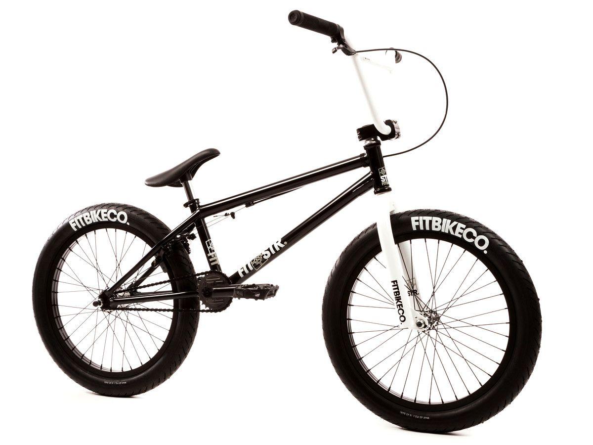 Fit Bike Co Str 2017 Bmx Bike Gloss Black White Kunstform