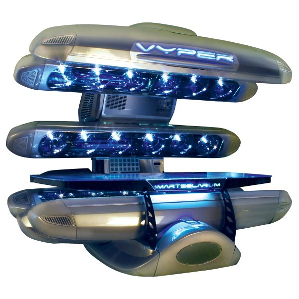 the vyper 360 tanning bedsmart solarium north america   salons