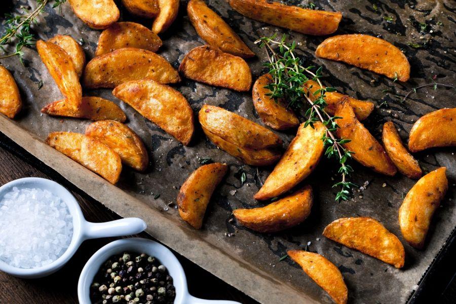 Kartoffelspalten mit Quark - Rezept | Frag Mutti