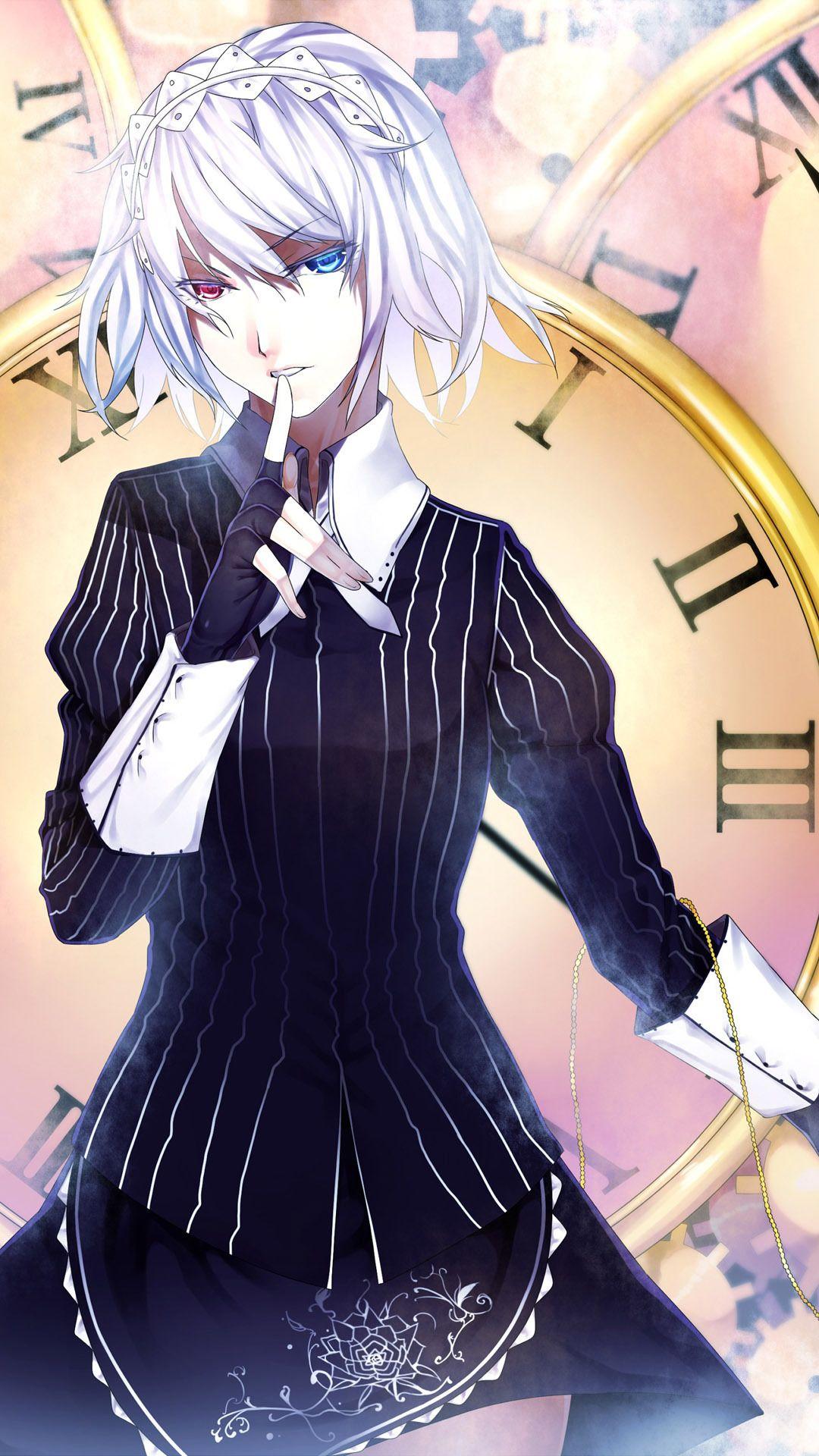Inspiring anime mobile phone wallpaper sakuya izayoi - Anime wallpaper for smartphone ...