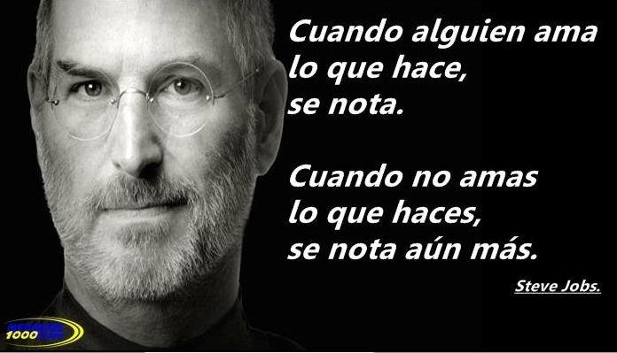 Las Mas Inspiradoras Frases De Steve Jobs Para Que Alcances