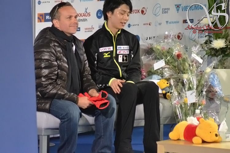 2013Finlandia Trophy Kiss&Cry