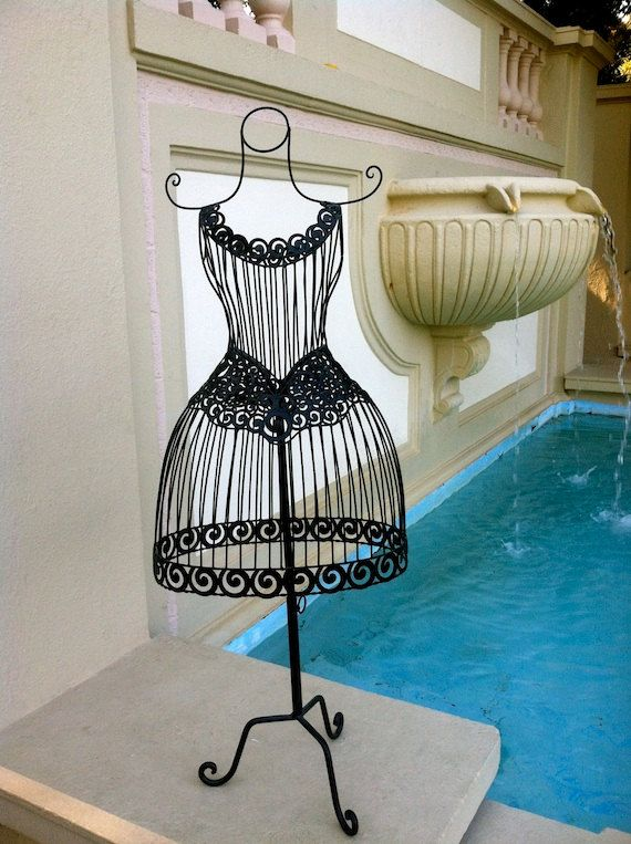 Wrought Iron Mannequin Jewelry Display Stand - Home Decor - The ...