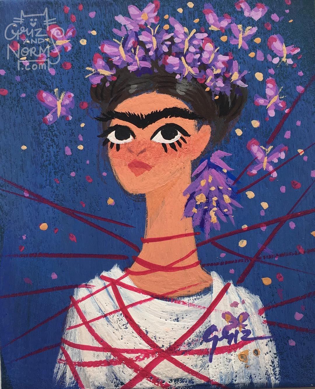 Griz Grizandnorm Frida Kahlo