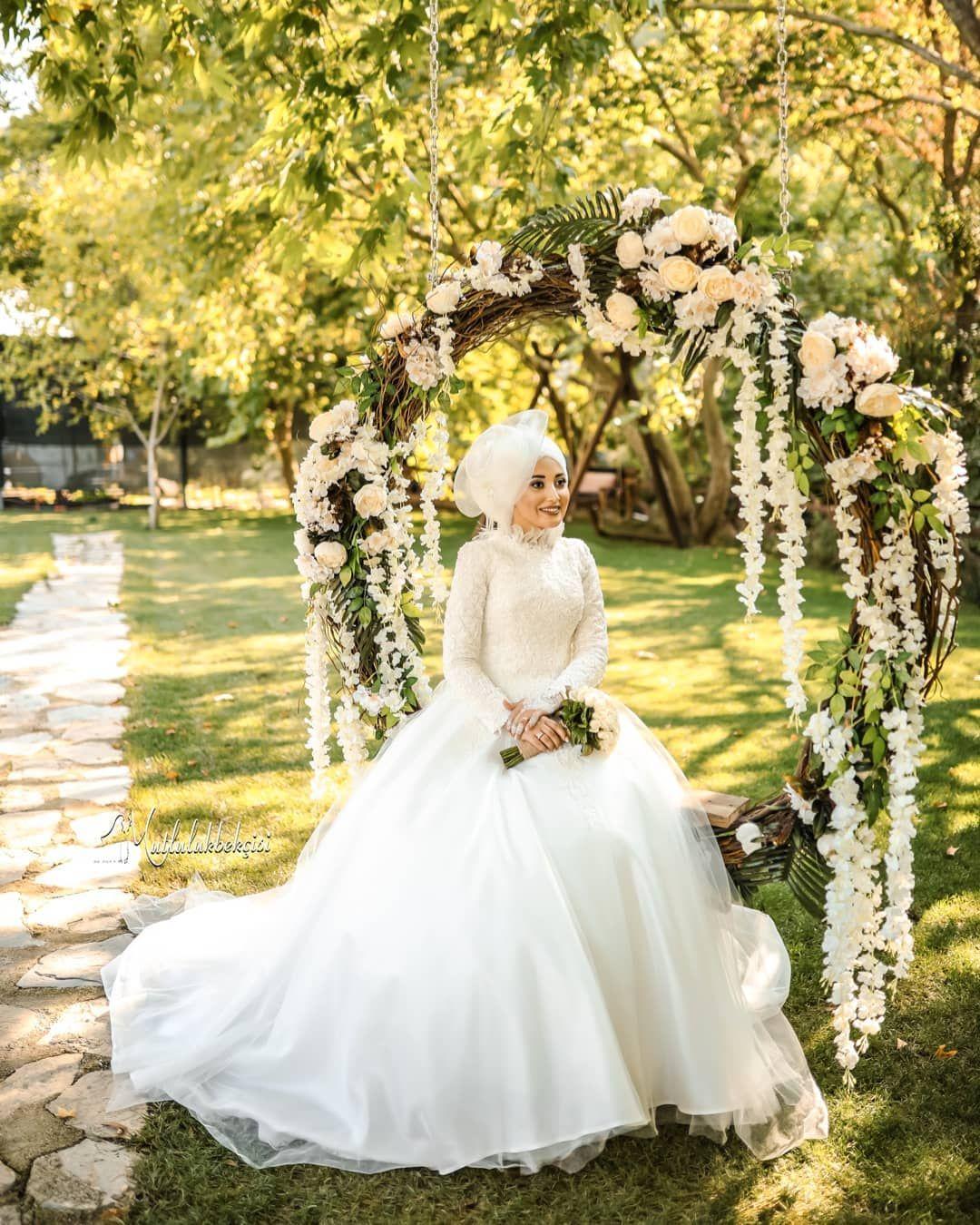 عروس محجبه شیک Flower Girl Dresses Wedding Dresses Dresses