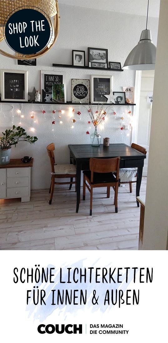 weihnachtsdeko sch ne lichterketten f r innen und a in. Black Bedroom Furniture Sets. Home Design Ideas