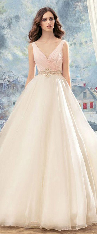 Ball gowns wedding dresses  Glamorous Organza Vnecu  u WEDDING DRESS u Bride to be  Wedding