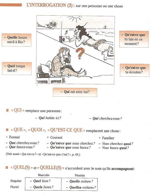 Ce Qu'il Ou Ce Qui : qu'il, Grammaire/, Interrogation, Ideas, French, Grammar,, Teaching, French,, Learn