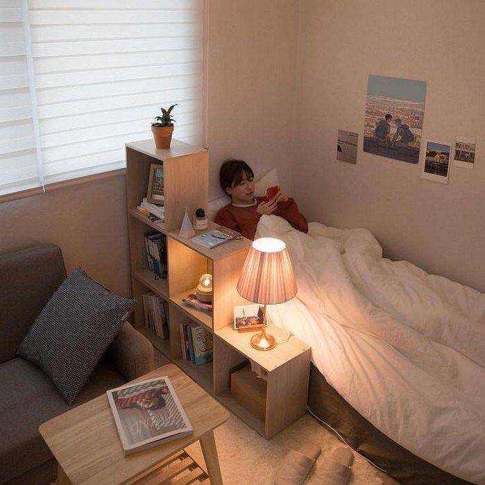 70 Dorm Room Minimalist Inspiration Dekor Ideen ~ nycrunningblog.com #dormdecor #bedroomdesignminimalist