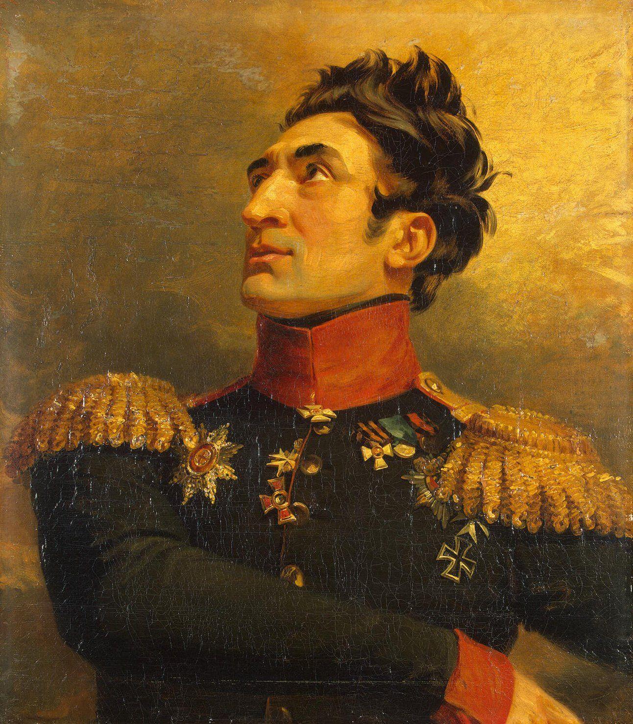 Portrait of Boris V. Poluektov (1778-1843) by George Dawe, RA (British, 1781-1829)
