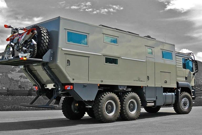 Action mobil offroad rv expedition vehicle vehicles