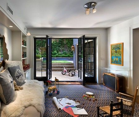 Photo Gallery Sabrina Linn 39 S Favourite Interiors Walkout Basement Door Design And Basements