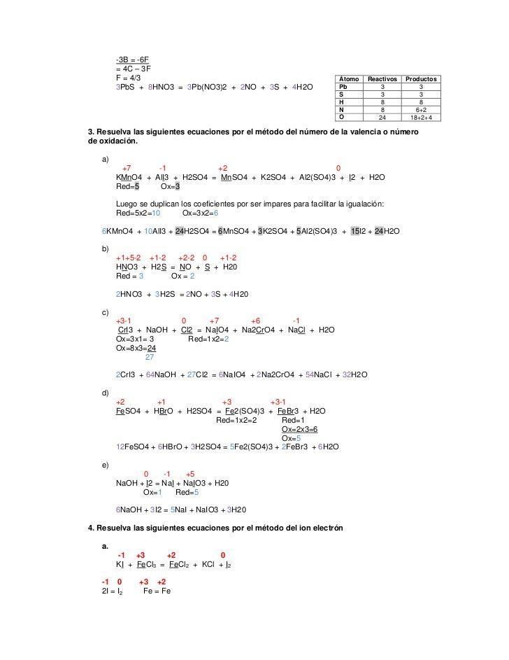 Ejercicios Resueltos | quimica | Pinterest | Ejercicios, Ecuación y ...