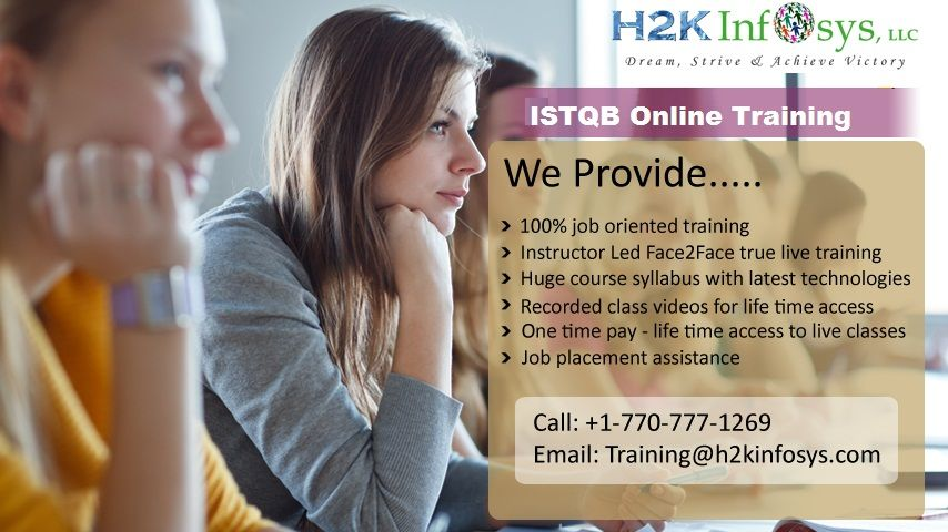 ISTQB certification ensures software testing professionals as a quality and standardized professional with a base to get to job opportunities from top MNCs.