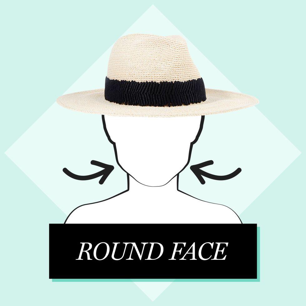 Best Hat for Face Shape  pick medium to long brim fedoras 9470ce29d534