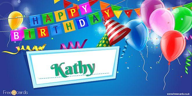Happy Birthday Kathy Jpg 660 330 Birthday Card With Name Happy Birthday Stephanie Happy Birthday Pictures