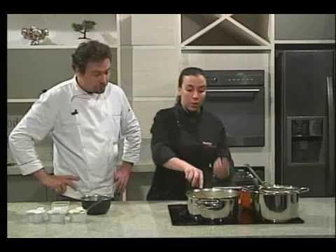 ▶ Espaço Gourmet - Receita Creme de Alho Poro com Frango - YouTube