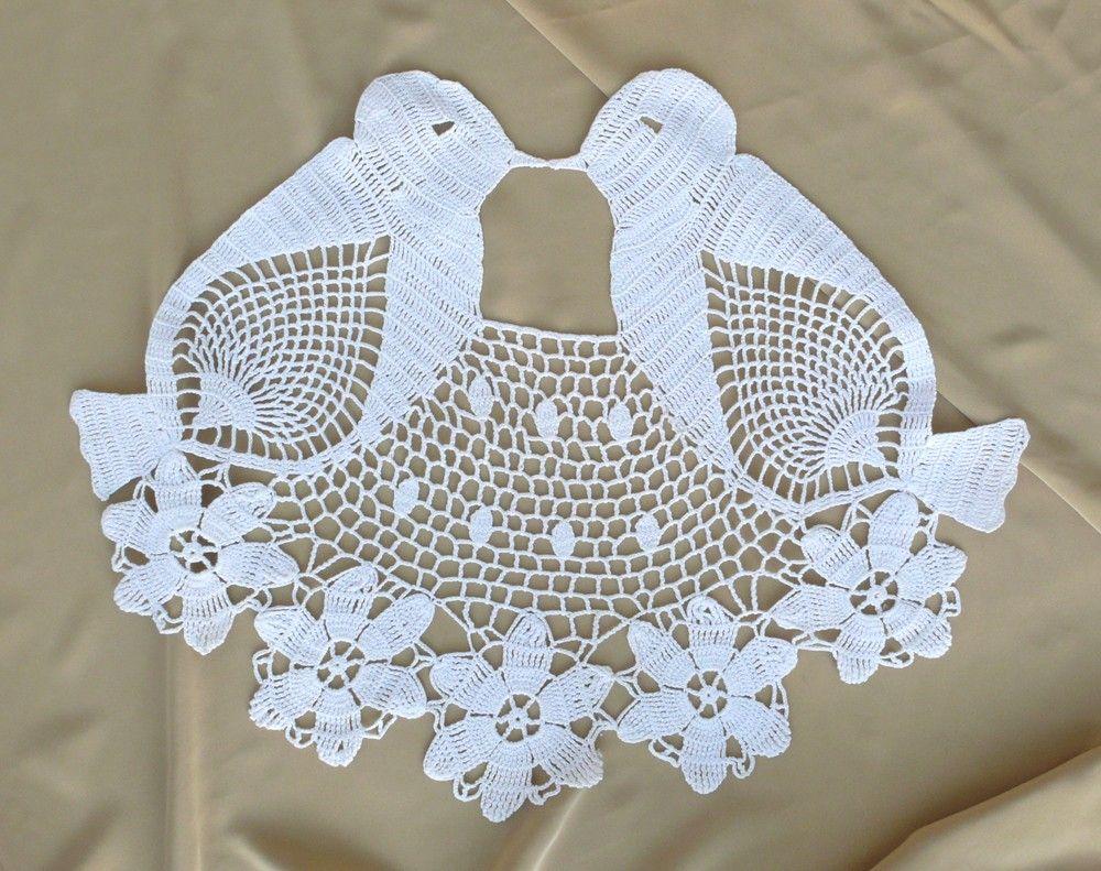 Crochet Love Birds | crochet | Pinterest | Tiere häkeln, Deckchen ...