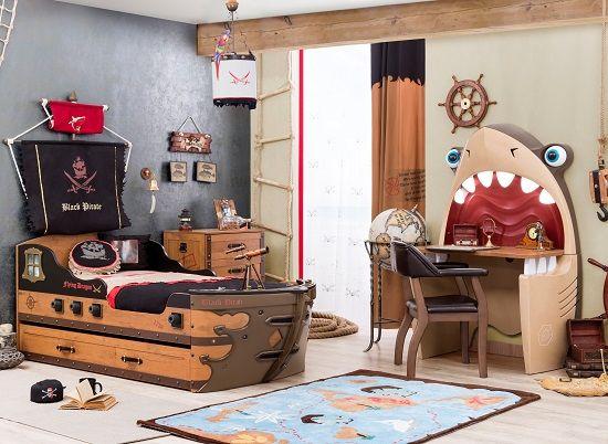 Pin de mamidecora en habitaciones infantiles dormitorios para ni os y ni as en 2019 - Dormitorios infantiles tematicos ...
