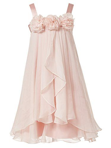 3904851254d Princhar Blush Pink Flower Girl Dress Little Girls Toddler Wedding Party  Dresses US 5T princhar http