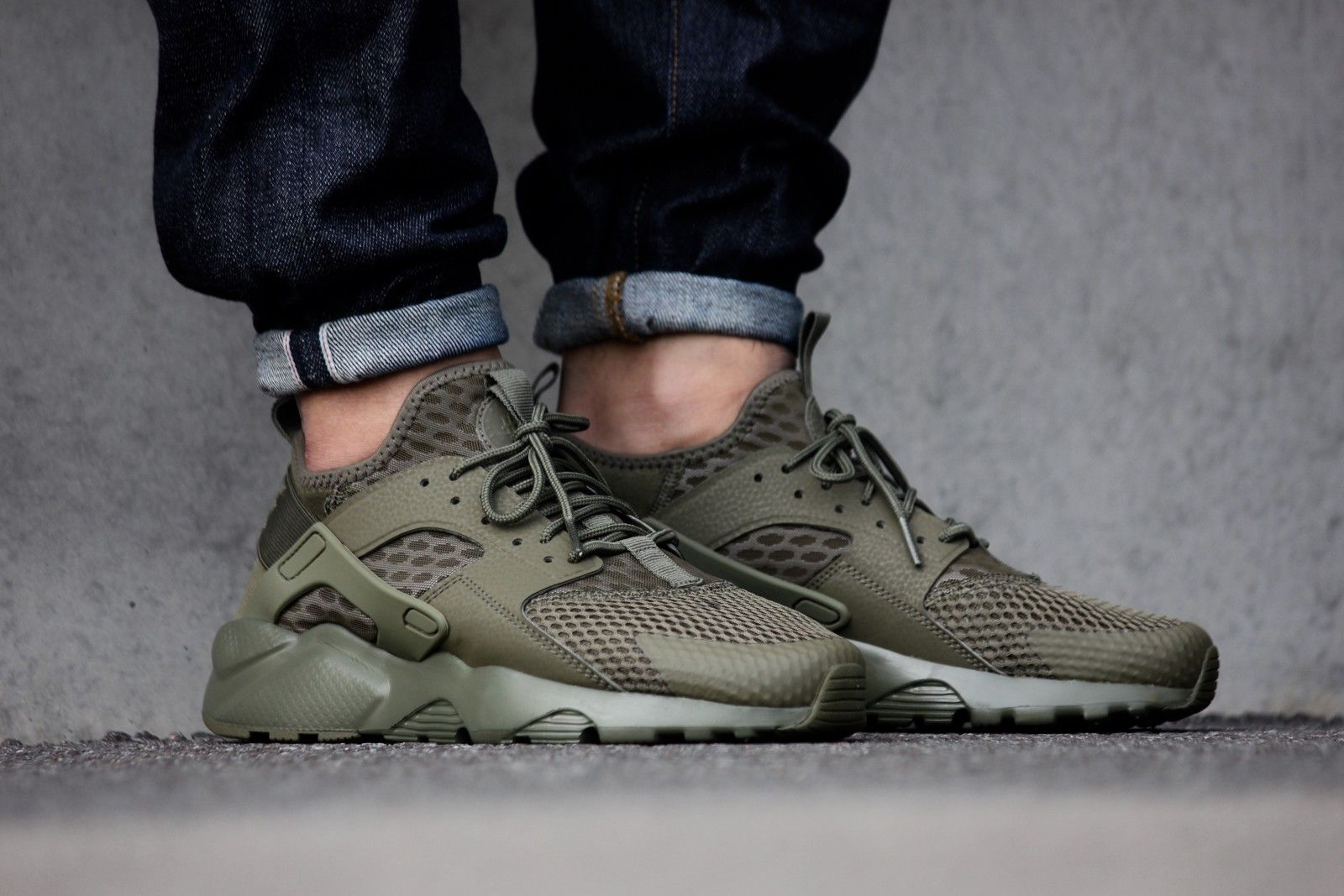 732be1f4403e Nike Air Huarache Ultra BR Medium Olive - 833147-200