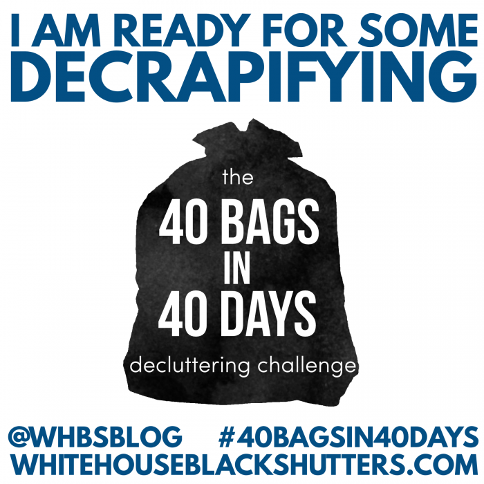 join the decluttering revolution! Challenge yourself to declutter ...
