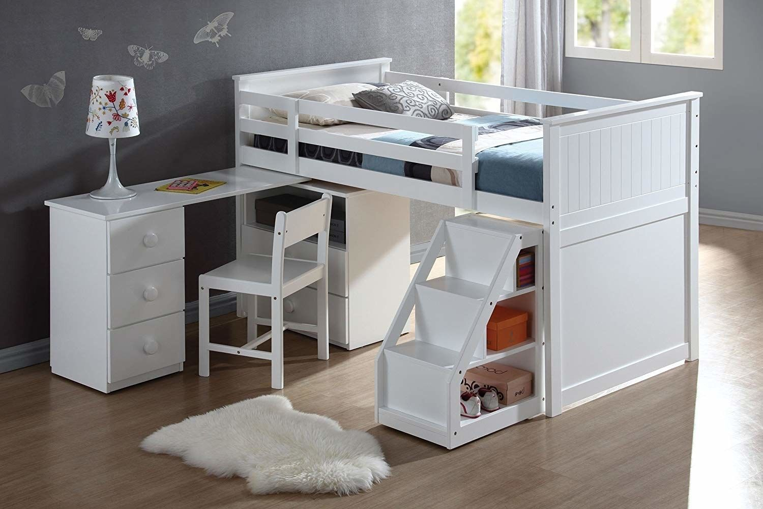 17 Loft Beds That'll Save You So Much Space Low loft