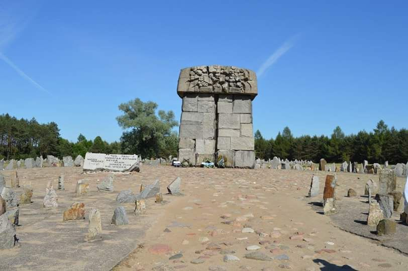 Treblinka Death Camp and Concentration Camp, photo by Auschwitz Study Group member Michael Mayzlin.