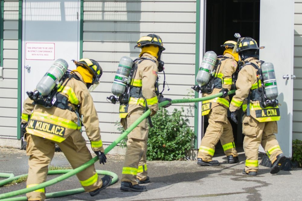 Dod Fire News 467th Engineer Battalion Firefighters Firefighter