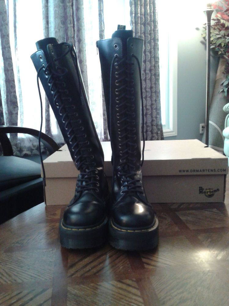 Doc Martens double stacked soles 20 eye