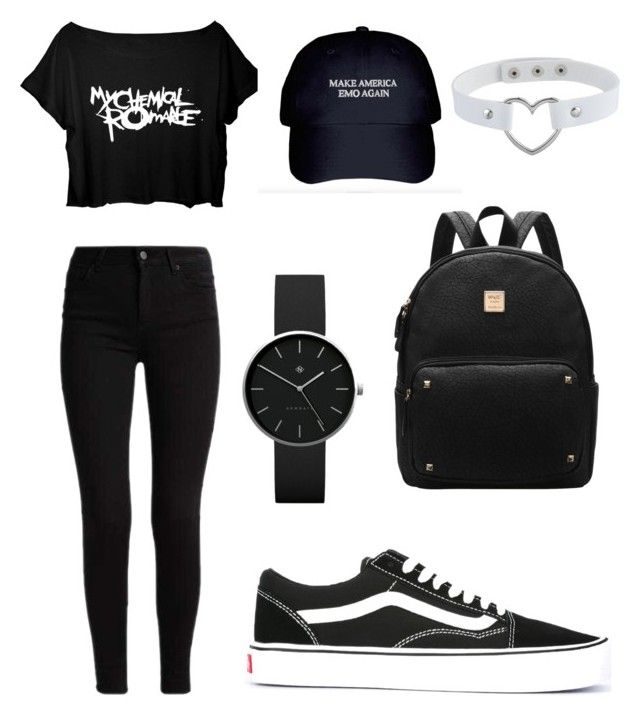 """""""Untitled #19"""" by mia-starr-zamora on Polyvore featuring Vans and Newgate"""
