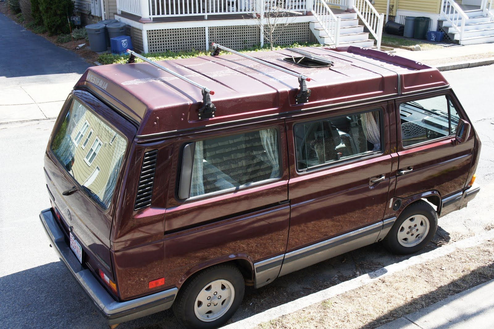 Roof Rack Choices For Vanagons Vw Vanagon Roof Rack Vw Syncro