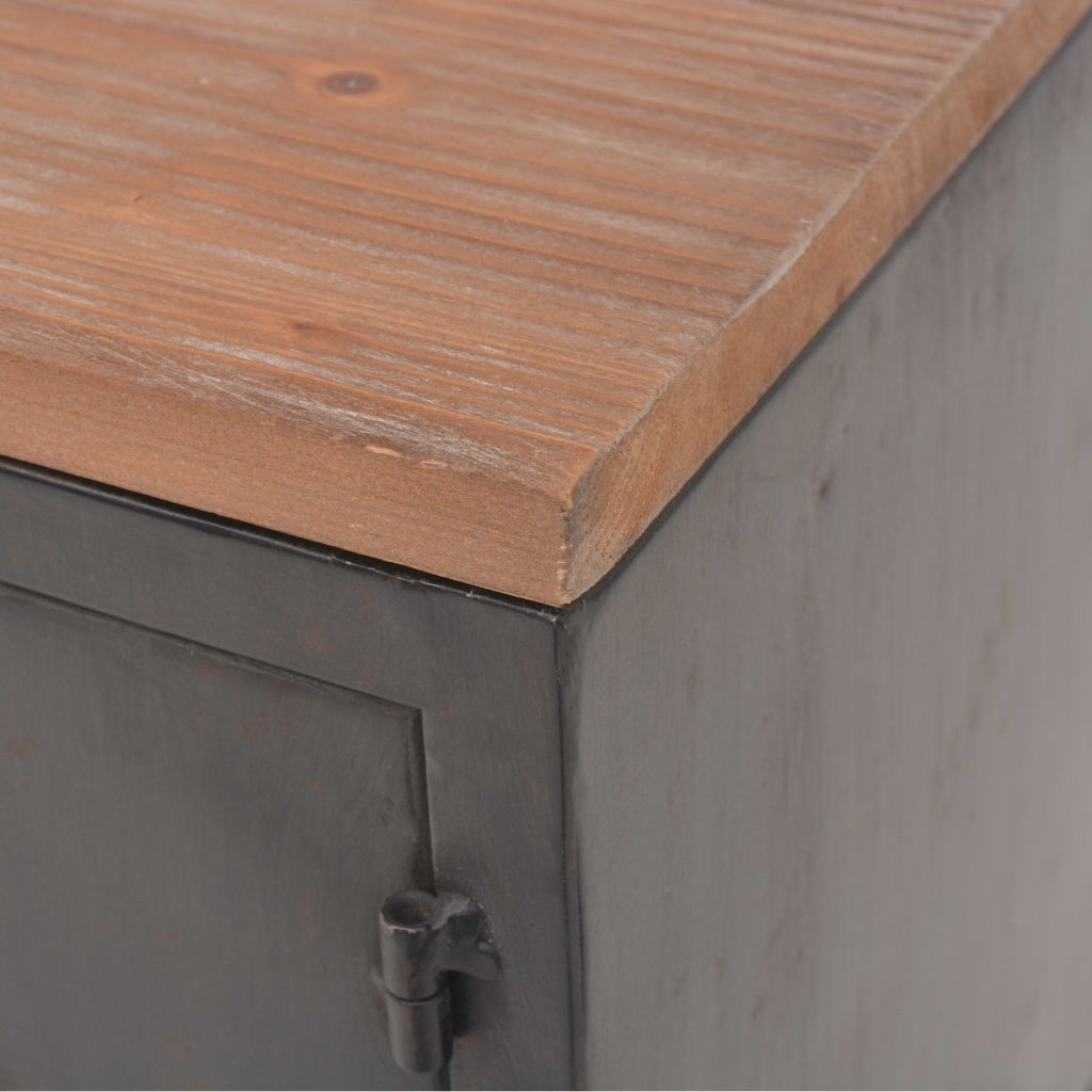 vidaXL TV Cabinet 120x30x43 cm Black