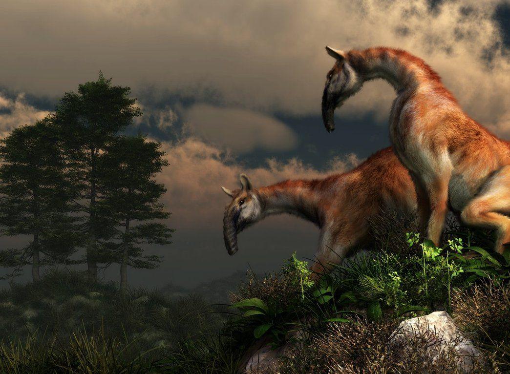 Macrauchenia By Deskridge With Images Prehistoric Animals Extinct Animals Prehistoric