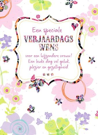 Vaak Kaarten - verjaardag vrouw - classics v | Hallmark #LS07
