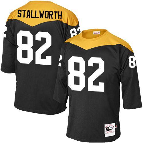 75173bf06bc ... where to buy john stallworth mens elite black jersey nike nfl pittsburgh  steelers home 82 1967
