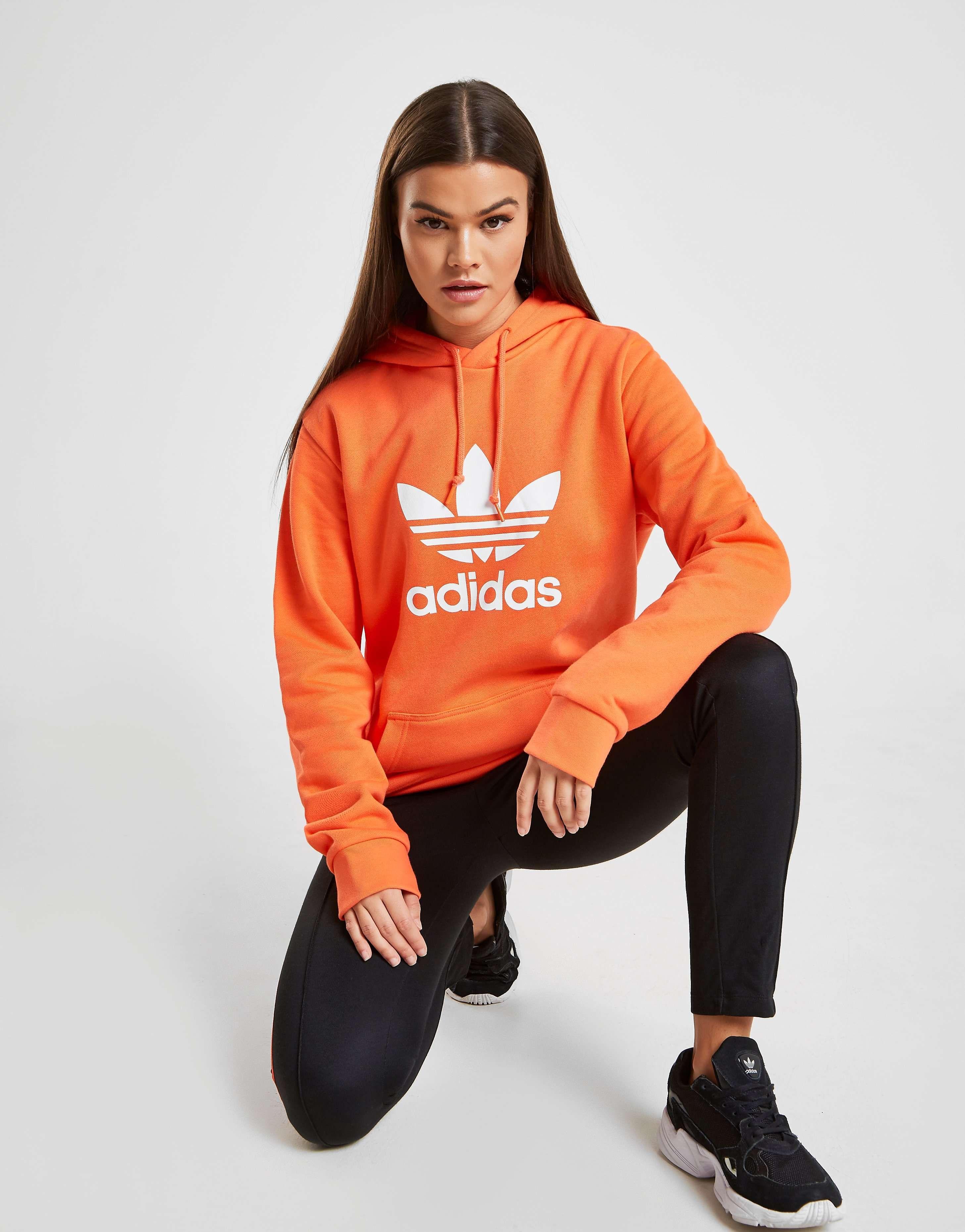 adidas Originals Trefoil Overhead Boyfriend Hoodie in 2019
