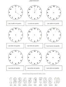 Apoyo Escolar Ing Maschwitzt Contacto Telef 011 15 37910372 Como Enseñar La Hora A Los Niños Aprender La Hora Ejercicios De Calculo Como Enseñar A Leer