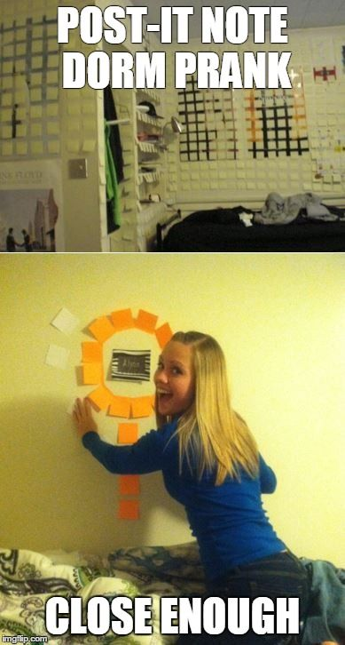 Dorm Room Prank Fail  Pinterest Fails  Pinterest  Dorm  ~ 231107_Dorm Room Prank Ideas