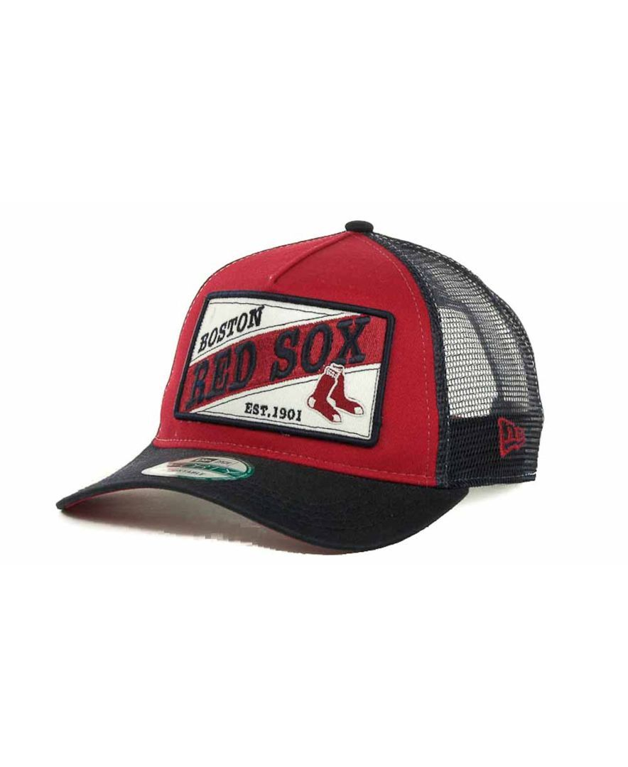 d0f3238d78caa5 New Era Boston Red Sox 18 Wheeler 9FORTY Cap | Products | Red sox ...